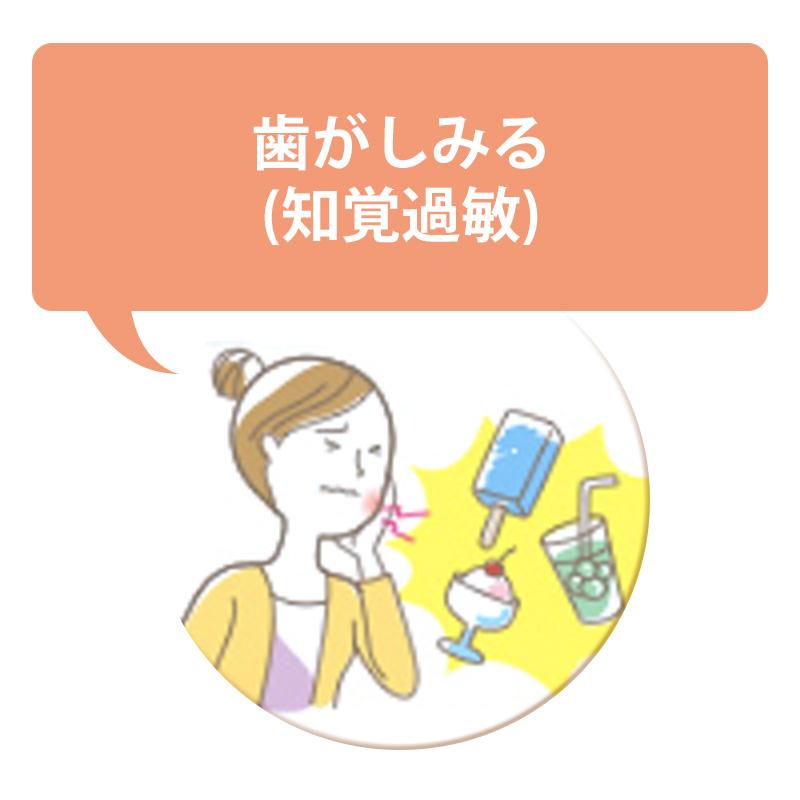 歯がしみる(知覚過敏)