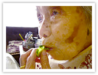 きゅうりが食べられるように!