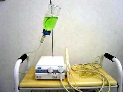 薬液注水型超音波スケーラー