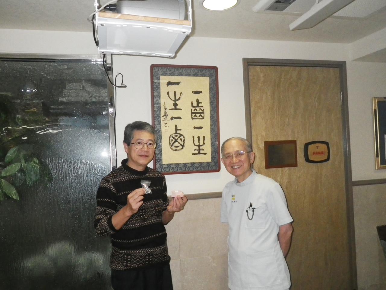 H28.11.13 東京にて 歯根破折の治療