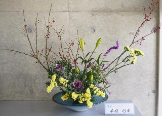 2017-1-10『お正月花』