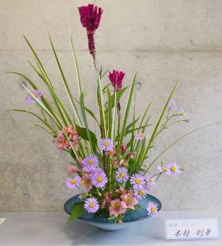 2016-8-31『花・秋風に舞う』