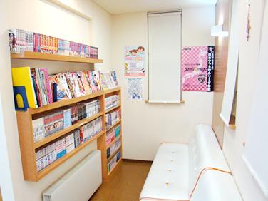 岩手県盛岡市 駅西通りおばら歯科医院 待合室