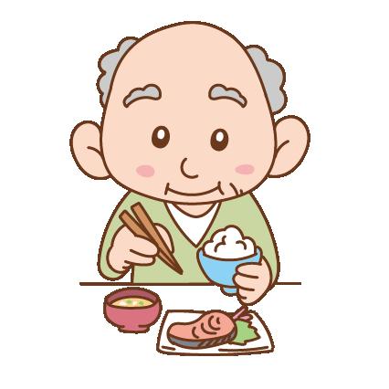 食事中のイメージ