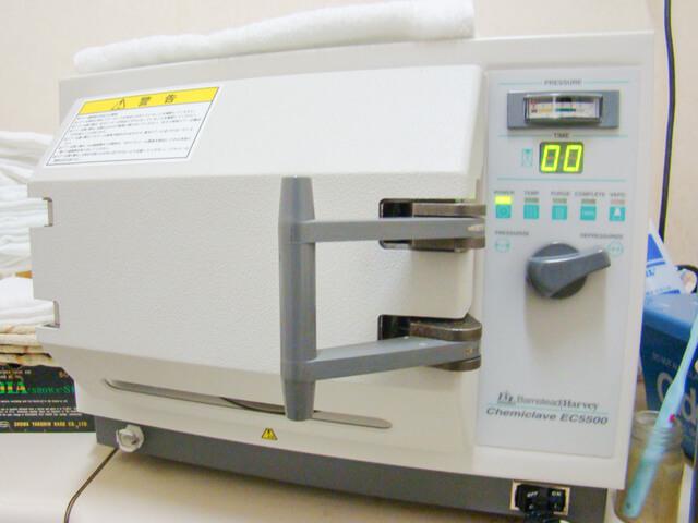 ケミクレーブ滅菌器