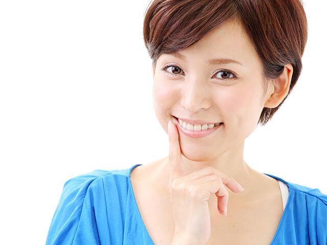 白く輝く歯をつくるホワイトニング治療