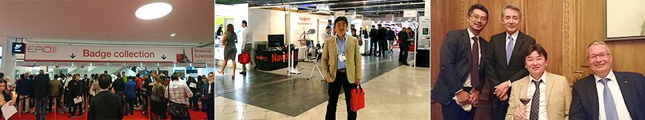 パリにて開催されたEAO(ヨーロッパインプラント学会)へ参加