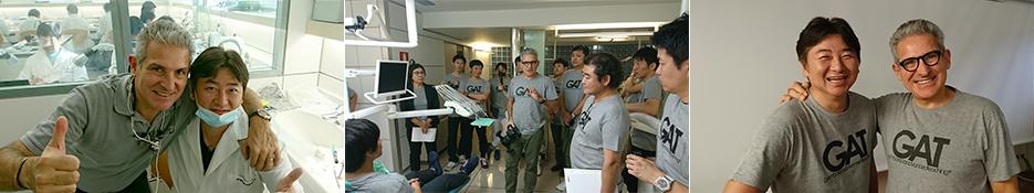 世界一と呼ばれる審美インプラントの巨匠Dr Inakiに師事(スペイン サンセバスチャン)