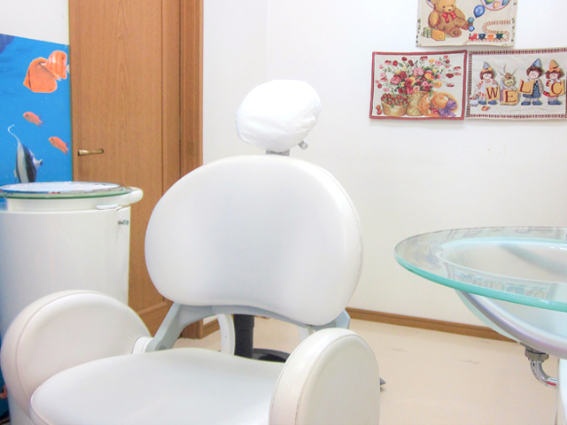 個室診療室(二部屋完備)