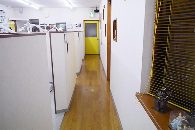 診療室入り口