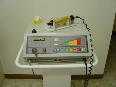 高周波レーザー治療器