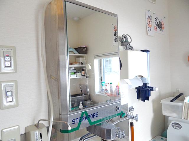 殺菌水手洗い装置