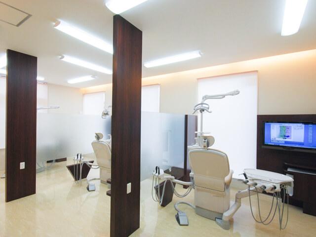 プライバシーを考慮した診療室