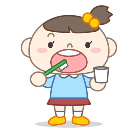 歯ブラシを上手く扱えないため、歯磨きが上手くできない