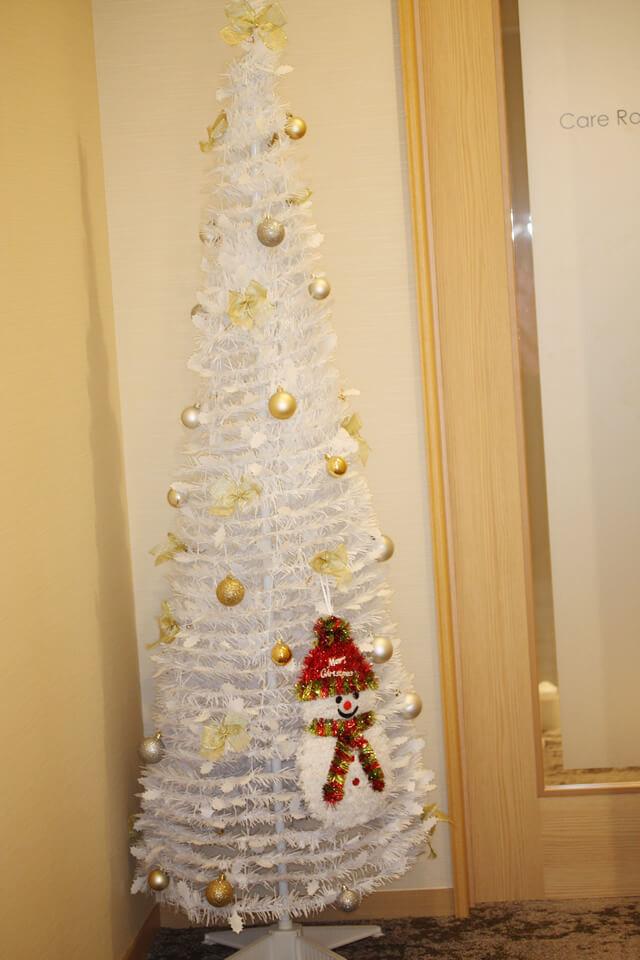 クリスマス…サンタさんが来ました。