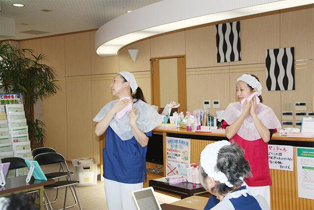 H30.12.14「いきいき健康お化粧教室2」