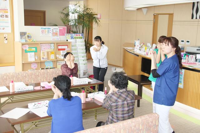 H31.4.12「いきいき健康お化粧教室」