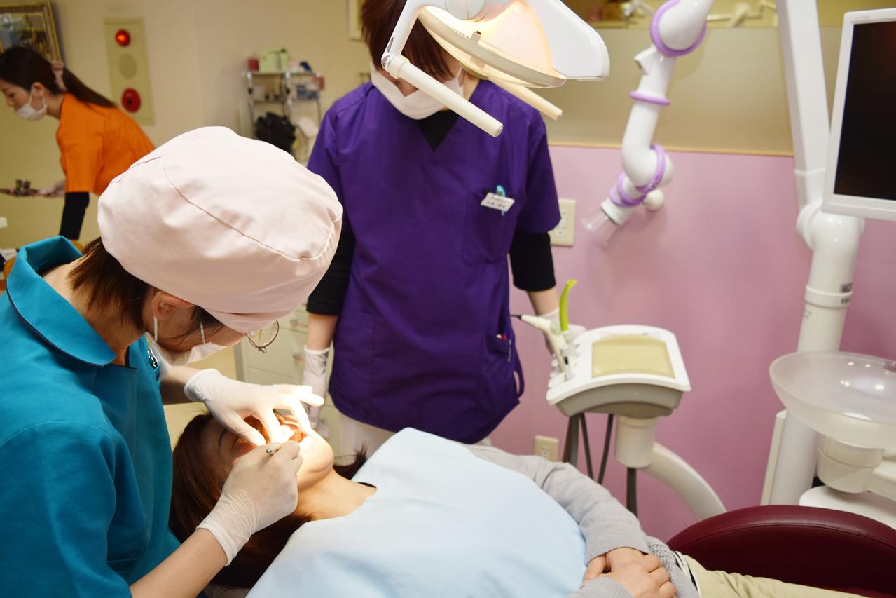 虫歯の初期治療