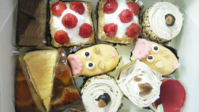 今月のお誕生日ケーキ