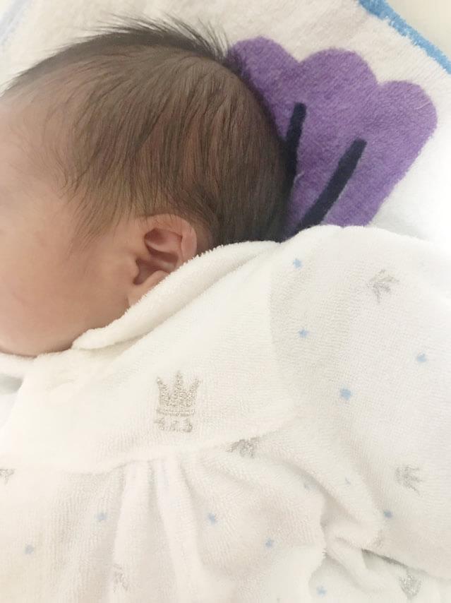 スタッフに赤ちゃんが生まれました。