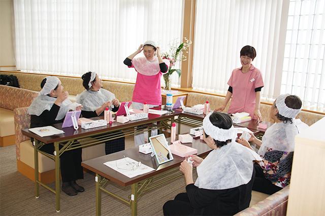 H31.2.8「いきいき健康お化粧教室2」