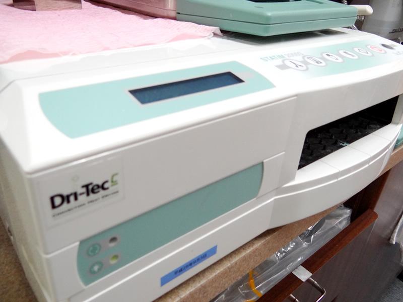 カセット式高圧蒸気滅菌器