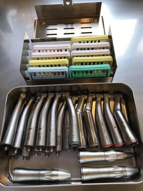 当医院では患者さんごとに、滅菌された器材を使用しています。