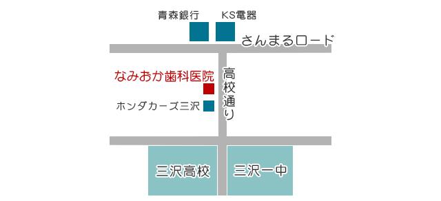 医院周辺地図