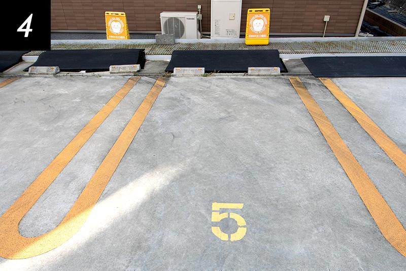 当院の駐車スペース