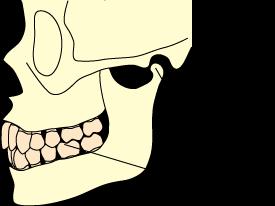 上下の歯が安定して噛み合ったときに、下顎頭が下顎窩の斜面上にあり不安定の状態