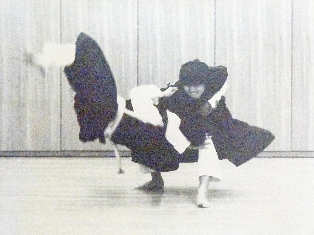 学生時代の部活風景です。少林寺拳法部に所属しておりました。