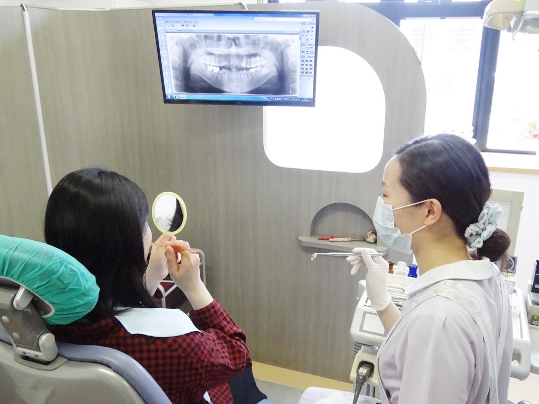 あさの歯科クリニック 診療風景