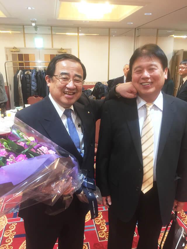 井上 孝 教授の退官特別講演・記念祝賀会に出席して来ました。