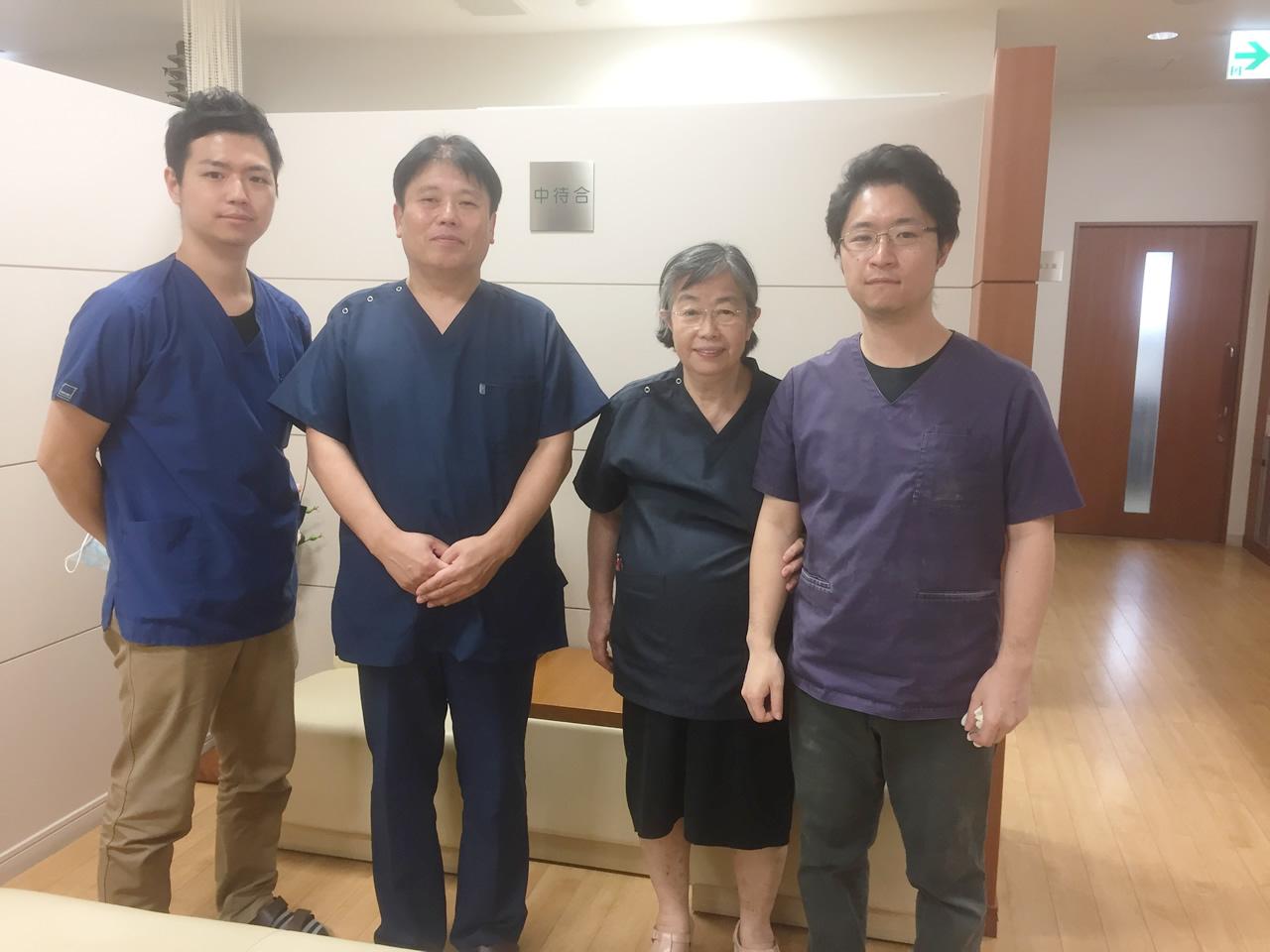 筒井歯科・矯正歯科医院にて研修