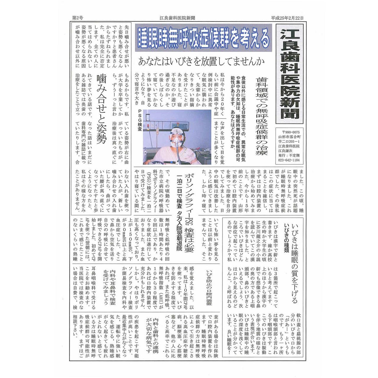 平成25年2月22日発行
