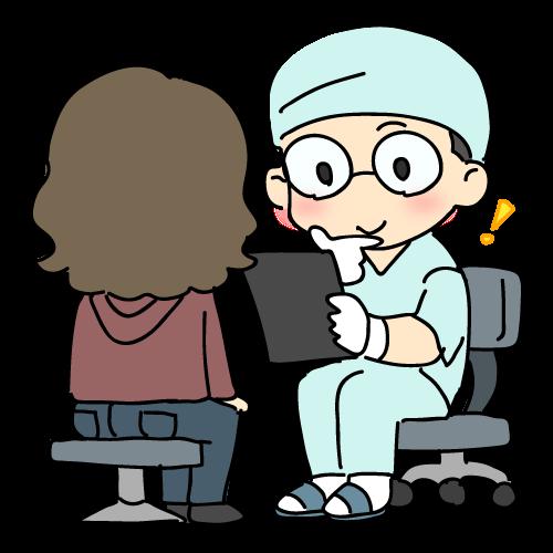 今まで歯科治療での経験をヒアリング