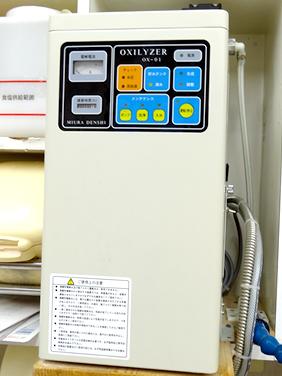 手指滅菌器(強電解水生成装置)