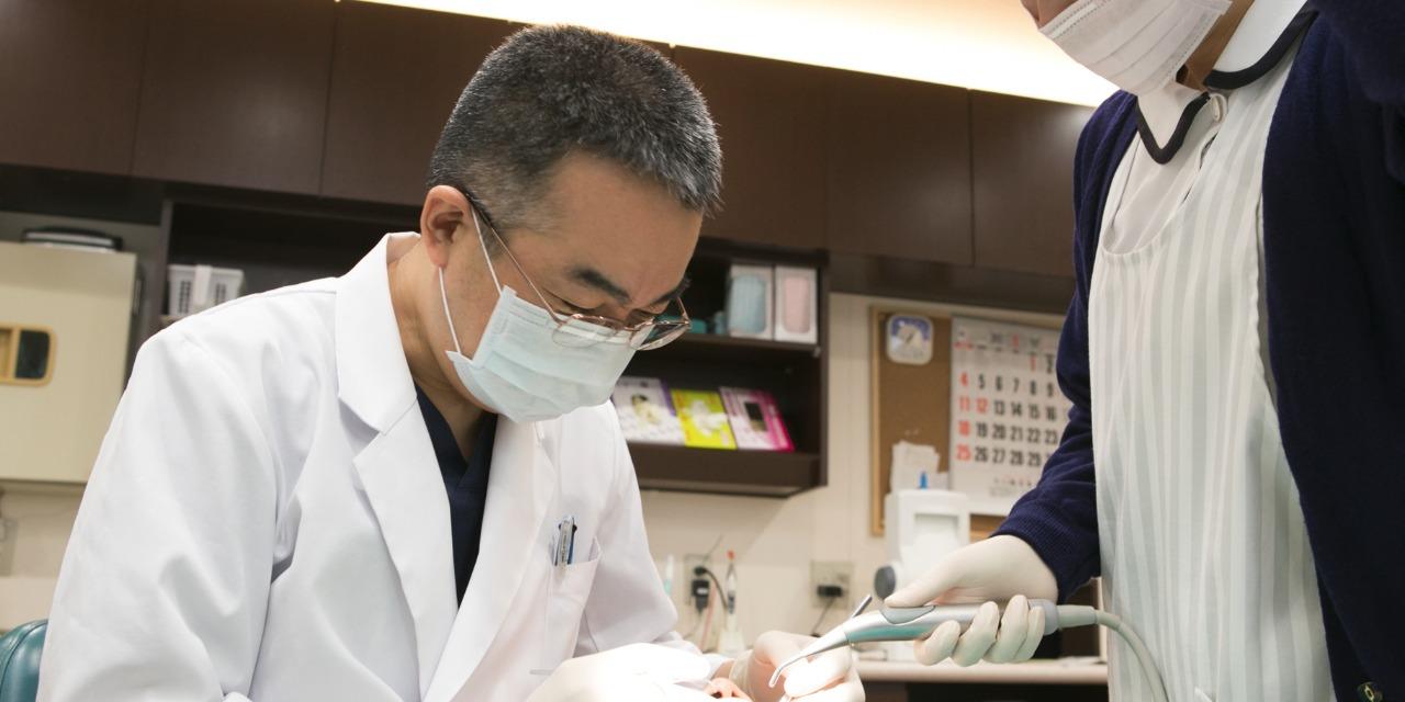 定期的な健診でむし歯の予防強化