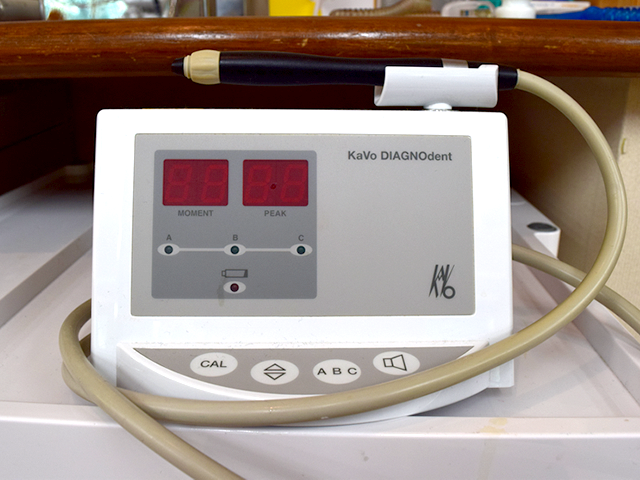 虫歯診断装置ダイアグノデント