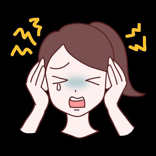 顎関節症の主な症状