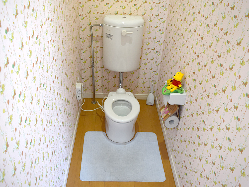 お子様用トイレ