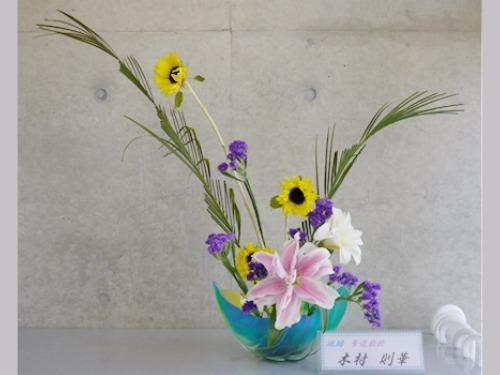 『お花でいっぱい』